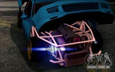 Honda Civic EG6 Tube Frame para GTA San Andreas vista traseira