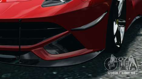 Ferrari F12 Berlinetta 2013 Modified Edition EPM para GTA 4 vista interior