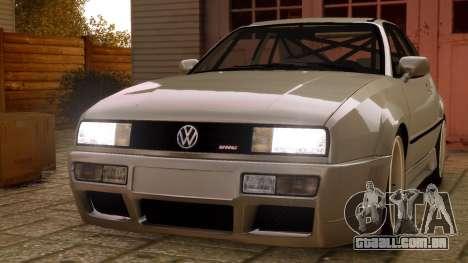 Volkswagen Corrado VR6 1995 para GTA 4 vista direita