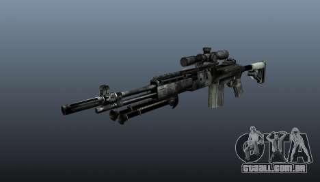 Rifle sniper M21 Mk14 v3 para GTA 4