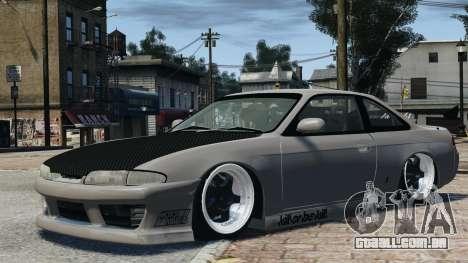 Nissan S14 Zenki JDM v2.0 para GTA 4