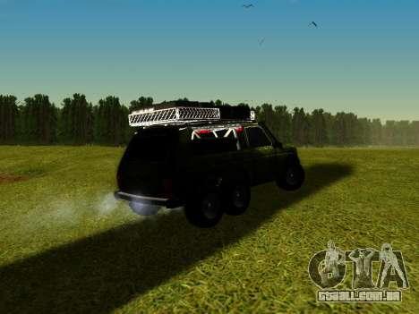 VAZ 212140 Hunter para GTA San Andreas esquerda vista