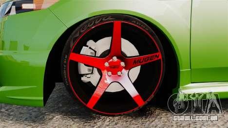 Acura TSX Mugen 2010 para GTA 4 vista de volta