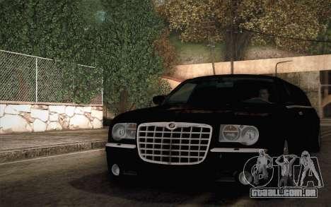 Chrysler 300C Limo 2007 para GTA San Andreas vista direita