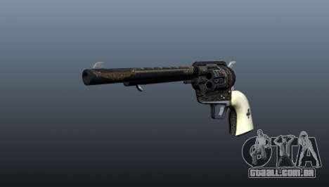 Sorte de revólver para GTA 4
