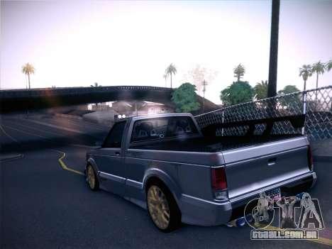 Mitsubishi Cyclone para GTA San Andreas vista direita