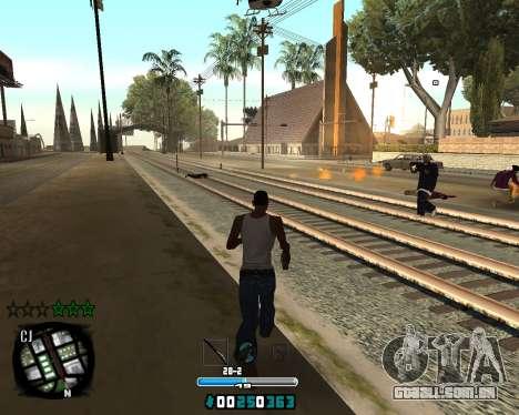 C-HUD Old Tawer para GTA San Andreas segunda tela