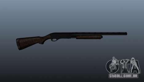 Shotgun da bomba-ação Remington 870 para GTA 4 terceira tela