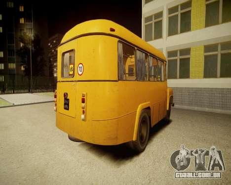 Escola de Kavz-685 para GTA 4 traseira esquerda vista