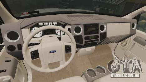 Ford F-350 Pitbull v2.0 para GTA 4 vista de volta