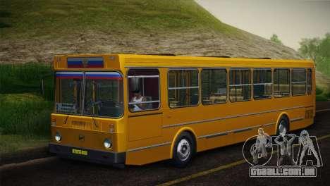 LIAZ 5256.00 pele-Pack 5 para GTA San Andreas vista direita