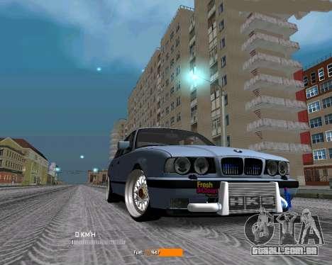 BMW E34 JDM para GTA San Andreas