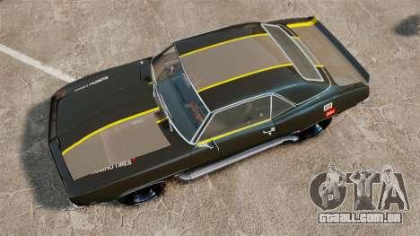 Chevrolet Camaro Z28 para GTA 4 vista direita