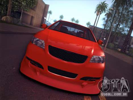 Toyota Vios Modified Indonesia para GTA San Andreas vista direita
