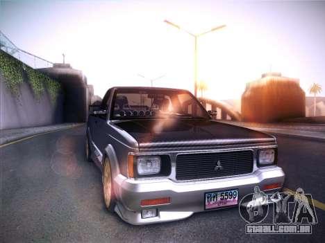 Mitsubishi Cyclone para GTA San Andreas esquerda vista