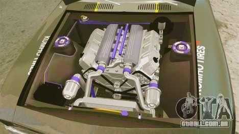 Chevrolet Camaro Z28 para GTA 4 vista de volta
