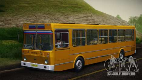 LIAZ 5256.00 pele-Pack 5 para GTA San Andreas vista interior