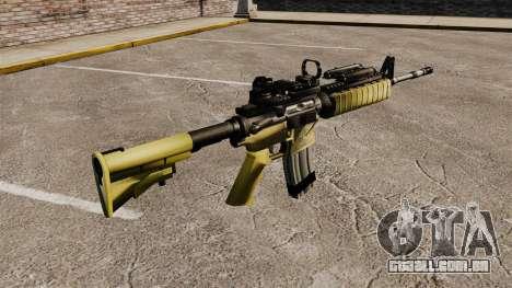 Automático M4 Red Dop v2 para GTA 4 segundo screenshot