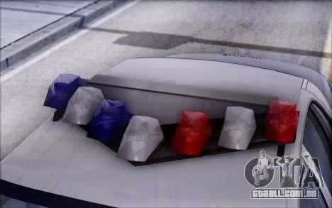 Ford Crown Victoria STR para GTA San Andreas vista interior