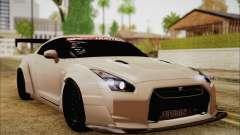 Nissan GT-R Liberty Walk para GTA San Andreas