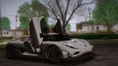 Koenigsegg Agera купе para GTA San Andreas