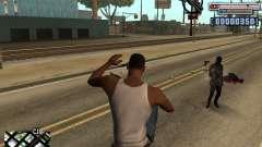 C-HUD by olimpiad para GTA San Andreas