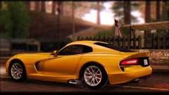 SRT Viper Autovista para GTA San Andreas