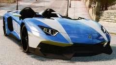 Lamborghini Aventador J Police