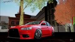 Mitsubishi Lancer Evolution X Stance Work para GTA San Andreas