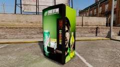 Novas máquinas de venda automática
