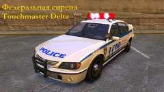 Sirene Federal Touchmaster Delta