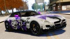 Mercedes Benz SLS AMG 2011 v3.0 [EPM] para GTA 4