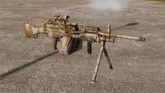 Luz metralhadora Mk 48