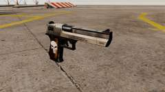 Pistola semi-automática de Desert Eagle Punisher