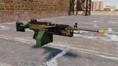 A M249 luz metralhadora Airsoft