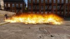 A nova configuração de incêndios e explosões