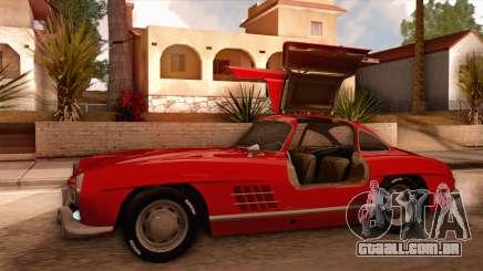 Mercedes-Benz 300SL Gullwing para GTA San Andreas