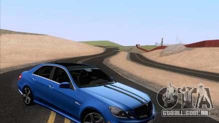 Mercedes-Benz E63 AMG 2011 Special Edition para GTA San Andreas