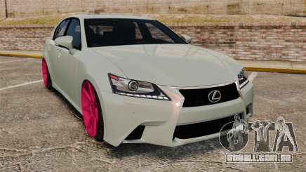 Lexus GS 350 2013 para GTA 4