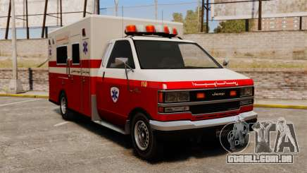 Ambulância iraniana para GTA 4