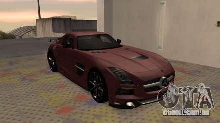 Mercedes-Benz SLS AMG 2013 Black Series para GTA San Andreas
