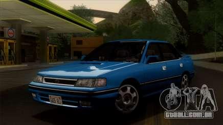 Subaru Legacy 2.0 RS (BC) 1989 para GTA San Andreas