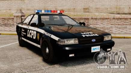 GTA V Vapid Police Cruiser [ELS] para GTA 4