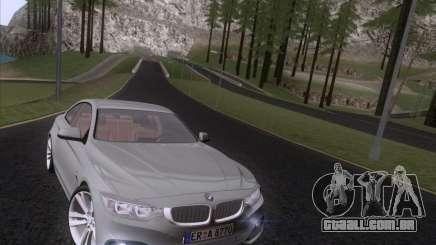 BMW F32 4 series Coupe 2014 para GTA San Andreas