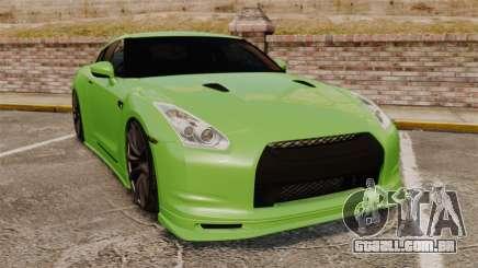 Nissan GT-R SpecV 2010 para GTA 4