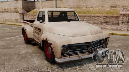 Caminhão velho enferrujado para GTA 4