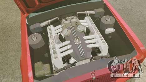Rolls-Royce Phantom Mansory para GTA 4 vista interior