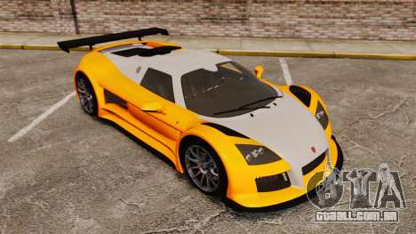 Gumpert Apollo S 2011 para GTA 4 vista inferior