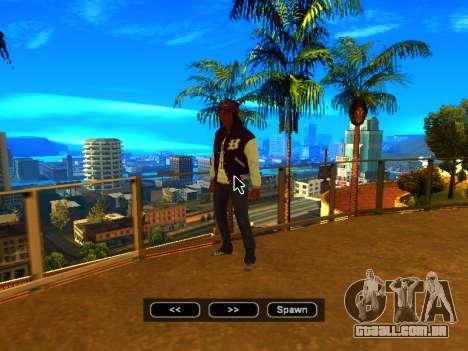 Pak peles de meninas para GTA San Andreas décima primeira imagem de tela