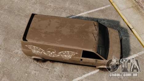 GTA IV TLAD Gang Burrito para GTA 4 vista direita